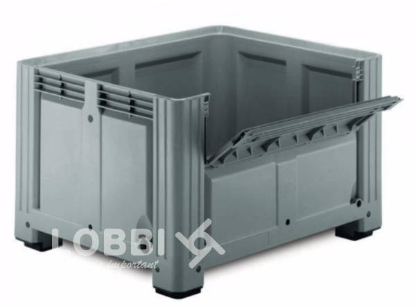 Plastic box pallet Industrial Box Gran Volume 1176 CA
