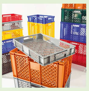 Plastic crate for bread 3230