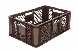 Plastic crate for bread 2430